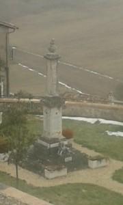 Panoramica e particolari del monumento ai caduti (particolare) Foto delle alunne Martina Poli e Teresa Rita Lepore